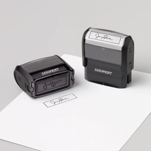 Signature Stamps, vistaprint, 5280, print and design, stamps, small business